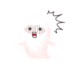 Fluffy balls (4) Halloween sticker #8337358
