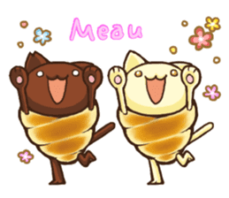 Neko-Corne(Choco&Vani)English ver. sticker #8341363