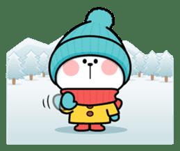 "Spoiled Rabbit ""Winter"" sticker #8343960"