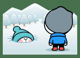 "Spoiled Rabbit ""Winter"" sticker #8343964"