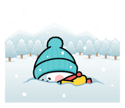 "Spoiled Rabbit ""Winter"" sticker #8343970"