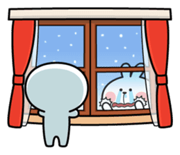 "Spoiled Rabbit ""Winter"" sticker #8343972"
