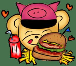 Rossy the food bears sticker #8347785