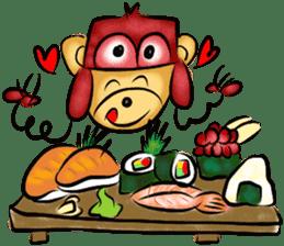 Rossy the food bears sticker #8347786