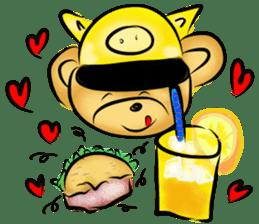 Rossy the food bears sticker #8347790