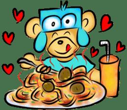 Rossy the food bears sticker #8347791