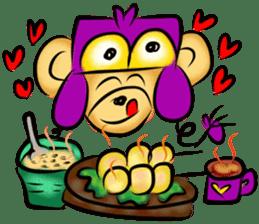 Rossy the food bears sticker #8347799
