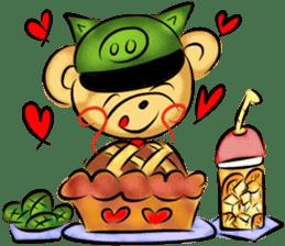 Rossy the food bears sticker #8347804