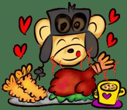 Rossy the food bears sticker #8347805