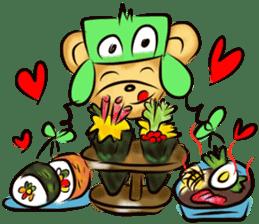Rossy the food bears sticker #8347807