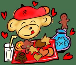 Rossy the food bears sticker #8347810