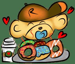 Rossy the food bears sticker #8347812