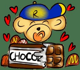 Rossy the food bears sticker #8347813