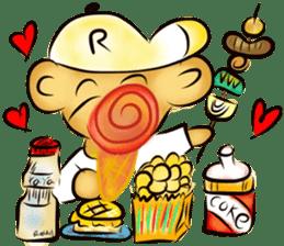 Rossy the food bears sticker #8347814