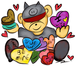 Rossy the food bears sticker #8347815