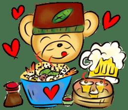 Rossy the food bears sticker #8347817