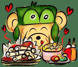 Rossy the food bears sticker #8347819