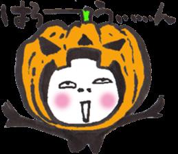 Numeko  in Halloween costumes. vol.11 sticker #8347832