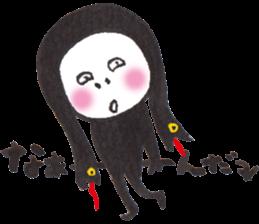 Numeko  in Halloween costumes. vol.11 sticker #8347842