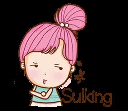 Sulky girl (EN) sticker #8349500