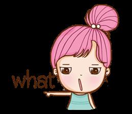 Sulky girl (EN) sticker #8349501