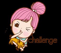 Sulky girl (EN) sticker #8349504