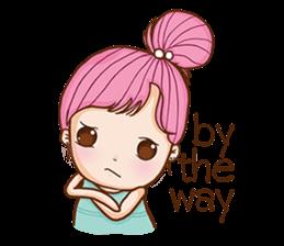 Sulky girl (EN) sticker #8349505