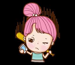 Sulky girl (EN) sticker #8349507