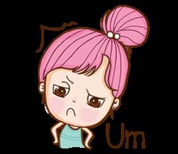 Sulky girl (EN) sticker #8349511
