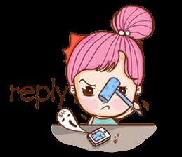 Sulky girl (EN) sticker #8349517