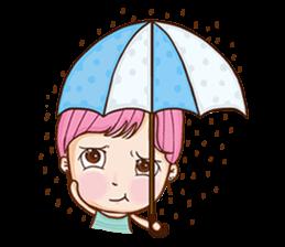 Sulky girl (EN) sticker #8349519