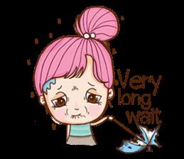 Sulky girl (EN) sticker #8349520