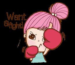 Sulky girl (EN) sticker #8349521