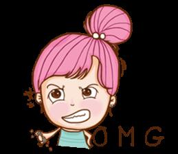 Sulky girl (EN) sticker #8349523