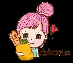 Sulky girl (EN) sticker #8349524