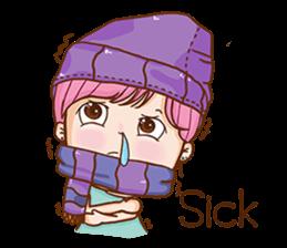 Sulky girl (EN) sticker #8349525