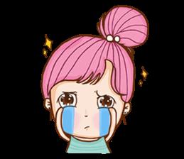 Sulky girl (EN) sticker #8349528