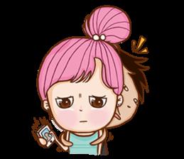 Sulky girl (EN) sticker #8349531
