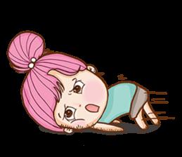 Sulky girl (EN) sticker #8349533