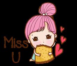 Sulky girl (EN) sticker #8349534