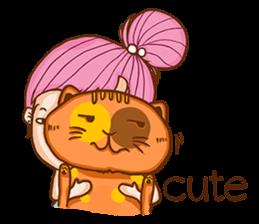 Sulky girl (EN) sticker #8349537