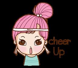 Sulky girl (EN) sticker #8349539