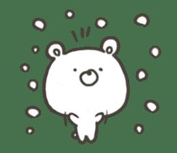 GOOD bear in winter sticker #8365440