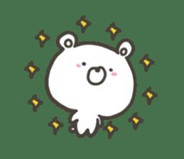 GOOD bear in winter sticker #8365448