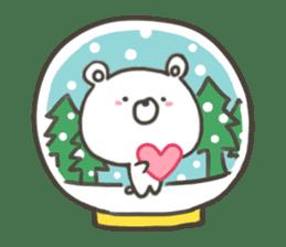 GOOD bear in winter sticker #8365450