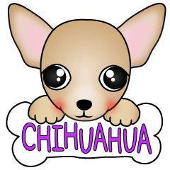 The Chihuahua stickers
