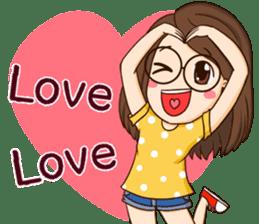 TuaGom : cute girl sticker #8366865