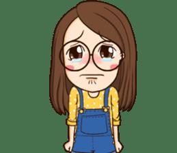 TuaGom : cute girl sticker #8366869