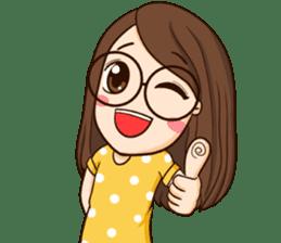 TuaGom : cute girl sticker #8366877