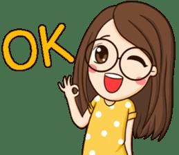 TuaGom : cute girl sticker #8366880